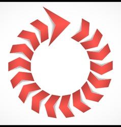 Arrow concept vector image vector image