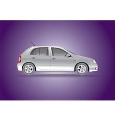 Car hatchback vector image vector image
