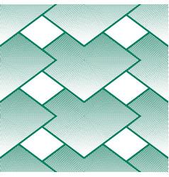 geometrical seamless pattern rhombuses halftone vector image vector image