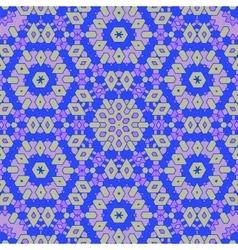 Creative ornamental blue pattern vector