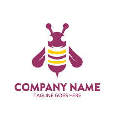 Bee logo-15 vector