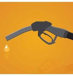 Fuel nozzle vector image vector image