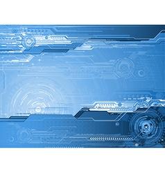 futurictic background vector image