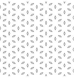 Geometric pattern outline rhombuses vector