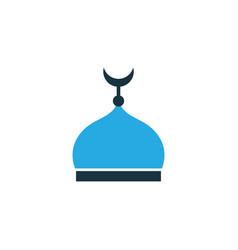 Minaret colorful icon symbol premium quality vector