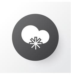 Snowy weather icon symbol premium quality vector