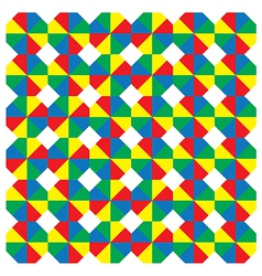 Multicoloured octagons vector