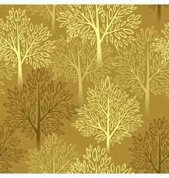Fall season background autumn tree seamless vector