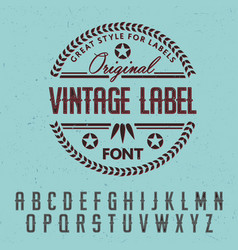 Great style for labels poster vector