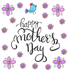 Happy mother day art vector
