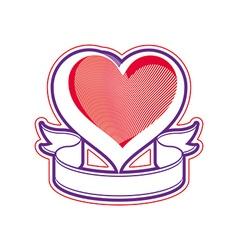 Loving heart love conceptual symbol vector