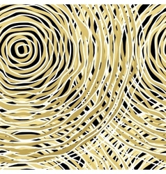 Seamless pattern with golden circle vector