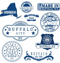 Buffalo city new york vector