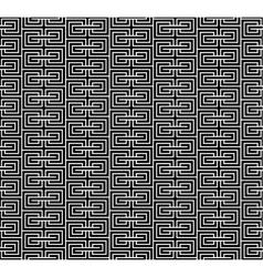 Spiral geometric black seamless vector