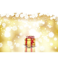 christmas gift background 0810 vector image