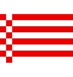 Bremen Flag vector image