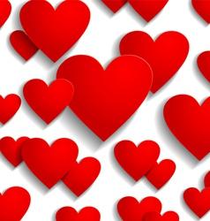 heart back white vector image vector image