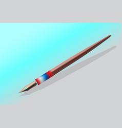 Ink pen background vector