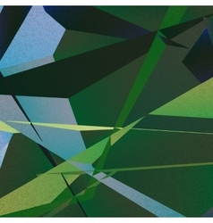 Retro geometric background with colorful triangles vector image vector image