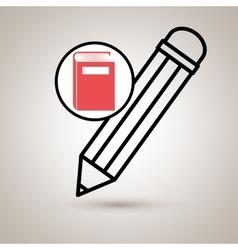 Book literature library icon vector