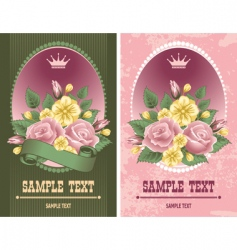 Vintage labels vector