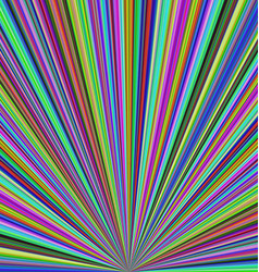 Colorful ray burst background - design vector