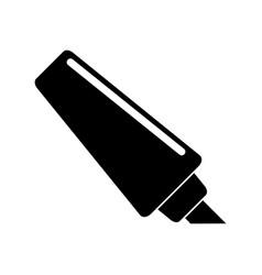 marker write school utensil pictogram vector image vector image