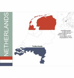 Netherlands vector image