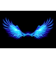 Fair wings Blue vector image