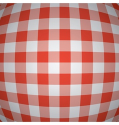 Picnic tablecloth background vector