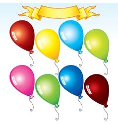 happy birthday kit vector image