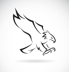 Image of an eagle design vector