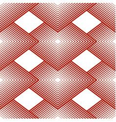 geometrical seamless pattern rhombus linear vector image vector image