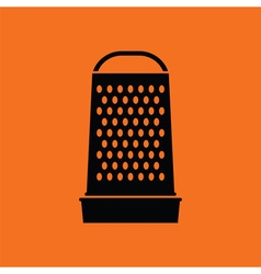 Kitchen grater icon vector