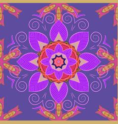 Flat flower elements design colour summer theme vector