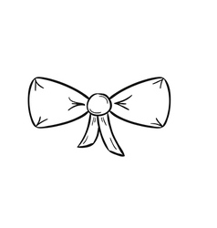 Elegant bow vector