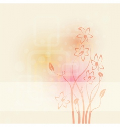 pastel poster vector image