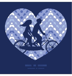 Purple drops chevron couple on tandem vector