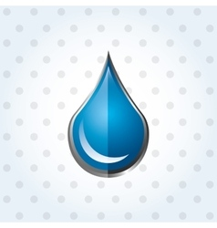 Water concept design vector