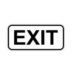 Exit icon concept for design vector