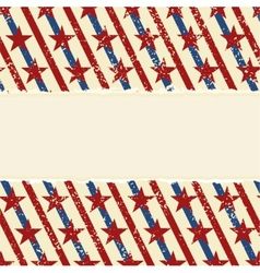 Abstract american striped background vector image vector image