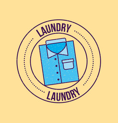 Laundry cleaning delicate vector
