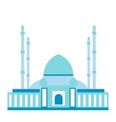 Mosque flat icon vector