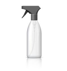 Plastic bottle can spray pistol vector