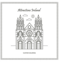 Sights ireland pictures vector
