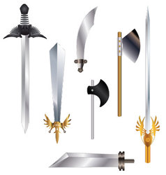 Swordcollection vector image