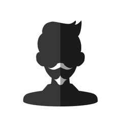 Male head icon man head design graphic vector