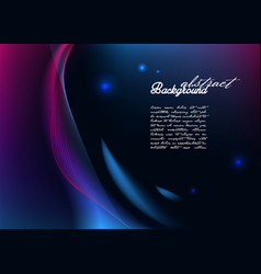 Abstract background with modern glowing lines vector