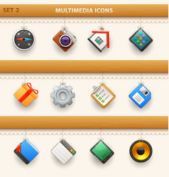 Hung icons - set 2 vector