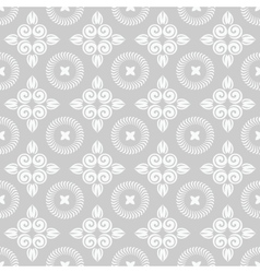 Romantic floral seamless vector